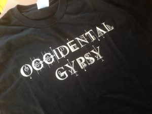 Occidental Gypsy TSHIRT 2016