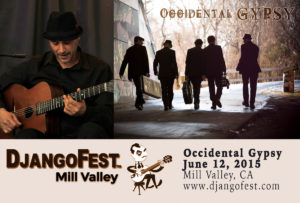 Occidental Gypsy to play Django Fest