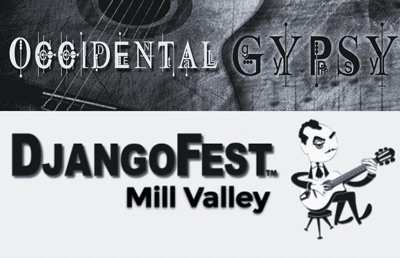 Occidental Gypsy are invited to play the 2015 Django Fest in Mill Valley, CA