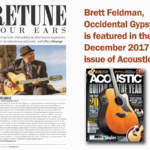 Interview with Brett featured in Acoustic Magazine, UK