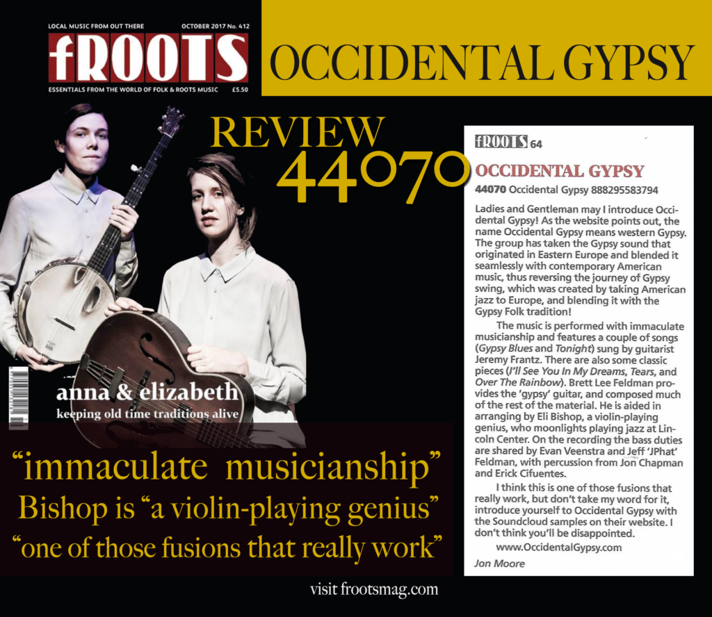 """October 2017 Review: """"immaculate musicianship"""""""